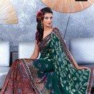 Indian Bollywood Designer Embroidery Saree Sari - TF 419