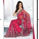 Bollywood Designer Embroidered Partywear Bridal Wedding Sarees Sari - RS2314