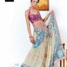 Indian Bollywood Designer Embroidery Saree Sari - TF 402