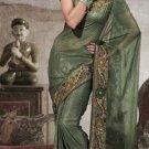 Designer Wedding Sari Bollywood Party Wear Sari - X719