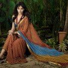Indian Womens Clothing Saree Printed Saree Sari - X612