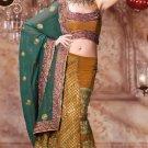 Indian Designer Bridal Wedding Partywear Embroidery Saree Sari Bollywood - X2108
