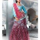 Indian Bollywood Designer Embroidery Saree Sari - TF 411