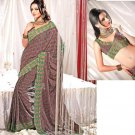 Saree Sari Indian / Pakistan Fancy Designer Embroidered - X1811