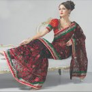 Saree Bridal Net Georgeous Embroidery Sari With Unstich Blouse - X 815 N