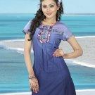 Indian Bollywood Cotton Partywear Kurti Kurta Tops - X 01