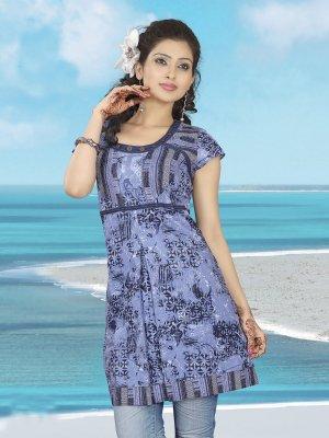 Indian Bollywood Cotton Partywear Kurti Kurta Tops - X 02 A