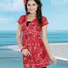 Indian Bollywood Cotton Partywear Kurti Kurta Tops - X 09 B