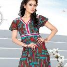Indian Bollywood Cotton Partywear Kurti Kurta Tops - X 1014A
