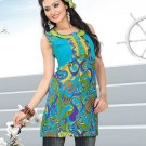 Indian Bollywood Cotton Partywear Kurti Kurta Tops - X 1018B