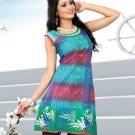 Indian Bollywood Cotton Partywear Kurti Kurta Tops - X 1021B