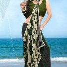 Partywear Faux Georgette Designer Exclusive Printed Saree With Blouse- NT 178a N
