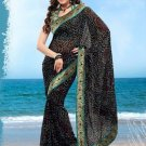 Partywear Faux Georgette Designer Exclusive Printed Saree With Blouse- NT 185 N