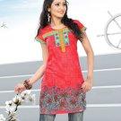 Indian Bollywood Cotton Partywear Kurti Kurta Tops - X 1019B