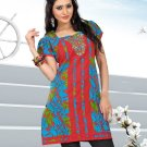 Indian Bollywood Cotton Partywear Kurti Kurta Tops - X 1017B