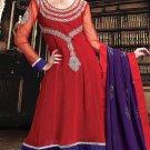 Georgette Bollywood Wedding Salwar Kameez Shalwar Suit - DZ 5112a N