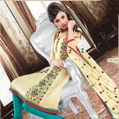 Georgette Bollywood Wedding Salwar Kameez Shalwar Suit - DZ 5103c N
