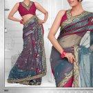 Saris Sarees Indian Bollywood Designer Bridal Wedding Embroidered - TS 16017