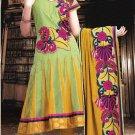 Net & Georgette Bollywood Wedding Salwar Kameez Shalwar Suit - DZ 5108b N