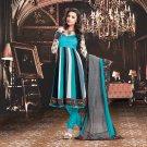 Georgette Bollywood Wedding Salwar Kameez Shalwar Suit - DZ 5123b N