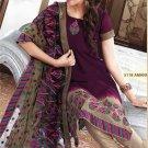 Georgette Bollywood Wedding Salwar Kameez Shalwar Suit - DZ 5118c N