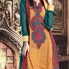 Georgette Bollywood Wedding Salwar Kameez Shalwar Suit - DZ 5102b N