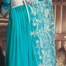 Georgette Bollywood Wedding Salwar Kameez Shalwar Suit - DZ 5101c N
