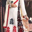 Georgette Bollywood Wedding Salwar Kameez Shalwar Suit - DZ 5100b N