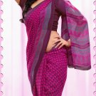 Casual Faux Georgette Designer Printed Sarees With Unstitch Blouse - X 2168A N