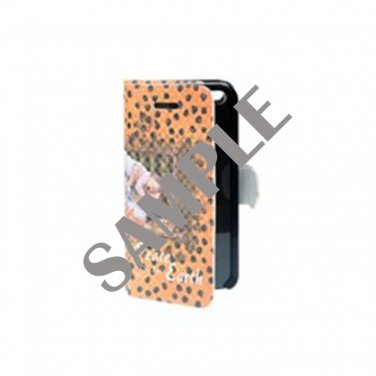 Apple iPhone 5 Woven Pattern Leather Folio Case
