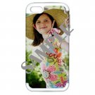 Apple iPhone 5 Hardshell Case (PC+Silicone) (White)