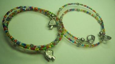 Hippy at Heart Bangle Bracelets.