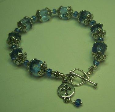 Tibetan Birthstone Bracelet for September