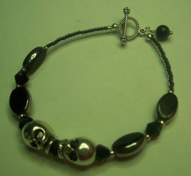 Tibetan Skull Bracelet