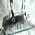 Silver Oval Handbag
