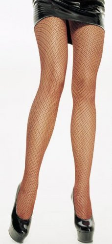 Two Tone Lycra Fishnet Pantyhose