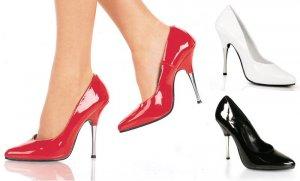 Entice - Women's Classic Pumps with Metal Heel