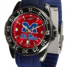 Ole Miss Rebels FantomSport AnoChrome Colored Band Watch
