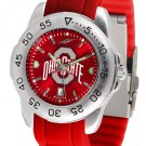 Ohio State Buckeyes Sport AnoChrome Colored Band  Watch