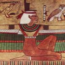 Egyptian Goddess Isis Photo License Plate