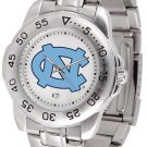 North Carolina Tar Heels Mens' Sport Steel Watch