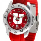 Utah Utes Sport AnoChrome Colored Band  Watch