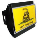 Don't Tread on Me Black Hitch Cover