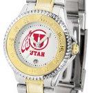 Utah Utes Ladies' Competitor Two-Tone Watch