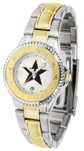 Vanderbilt Commodores Ladies' Competitor Two-Tone Watch