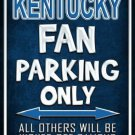 Kentucky Metal Novelty Parking Sign