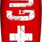 Life Guard Board Metal Novelty Surf Board Sign