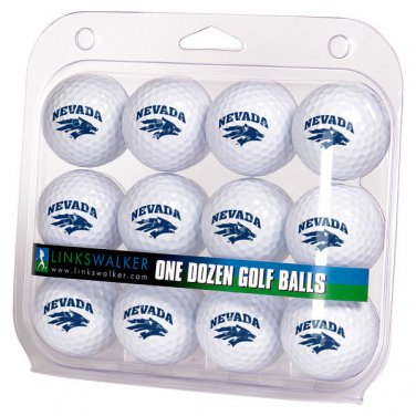 Nevada Wolfpack Dozen Golf Balls