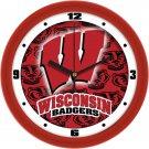 Wisconsin Badgers Dimensional Wall Clock