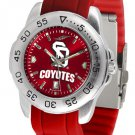South Dakota Coyotes Sport AnoChrome Colored Band  Watch